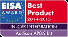 Audison-AP8_9_EISA_logo